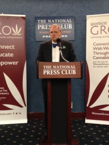 Rep. Earl Blumenauer (D-Ore.) kicks off the day at the National Press Club